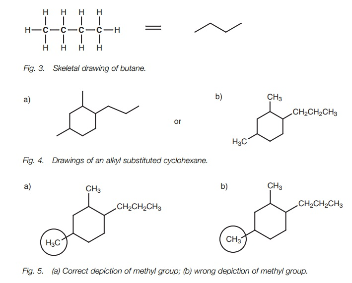 Alkanes and cycloalkanes: Drawing structures