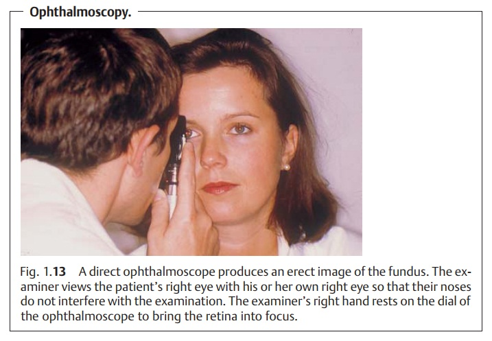 Examination of the Lens