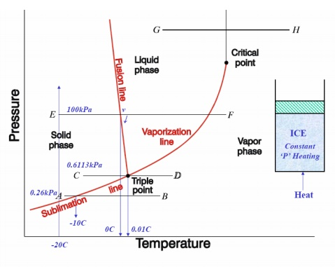 Formation of Steam and Properties