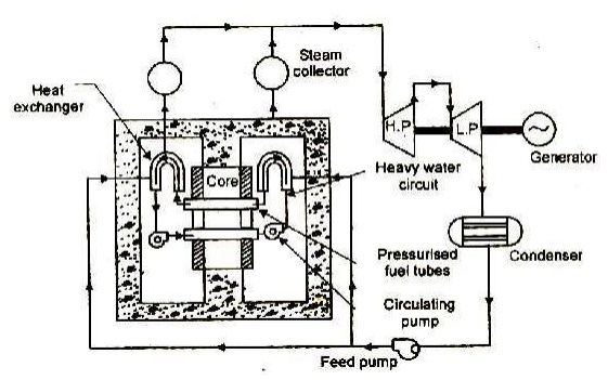 Heavy Water Cooled Reactor (HWR) (or) CANDU