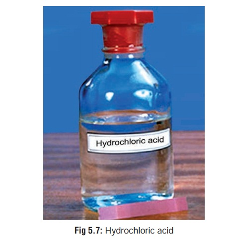 Hydrochloric Acid - Corrosive(Caustic) Poisons