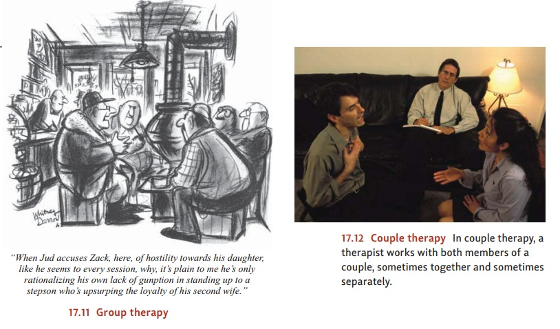 Psychological Treatments: Beyond One-on-One Therapy