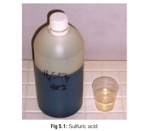 Sulfuric Acid - Corrosive(Caustic) Poisons