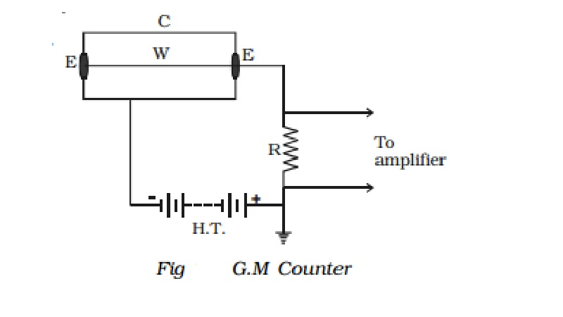 Geiger - Muller counter: Construction and Operation