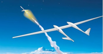 Air Launch from a Towed Glider