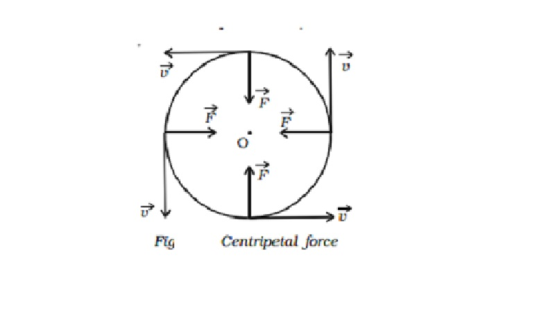 Centripetal acceleration, Centripetal force and Centripetal reaction