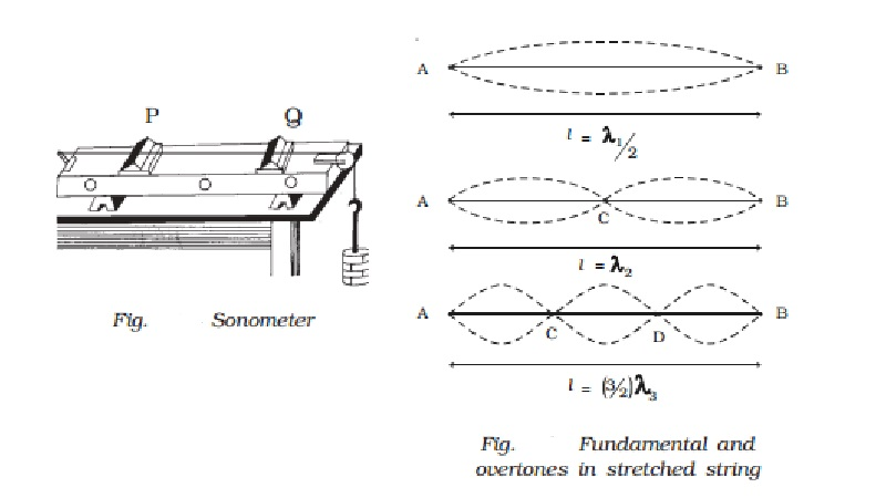 Standing waves in strings - Sonometer