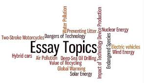 English Personal Essay Writing Topics