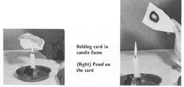 The Three-Part Candle Flame