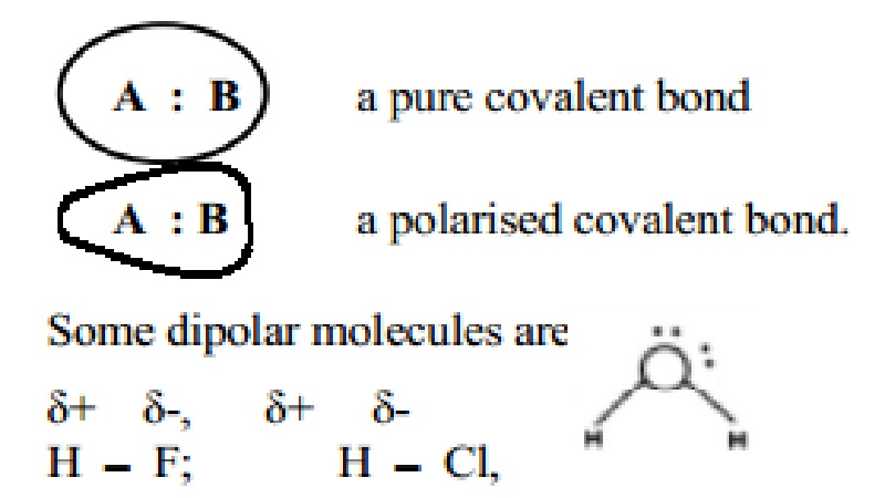 Polarity of Covalent Bonds