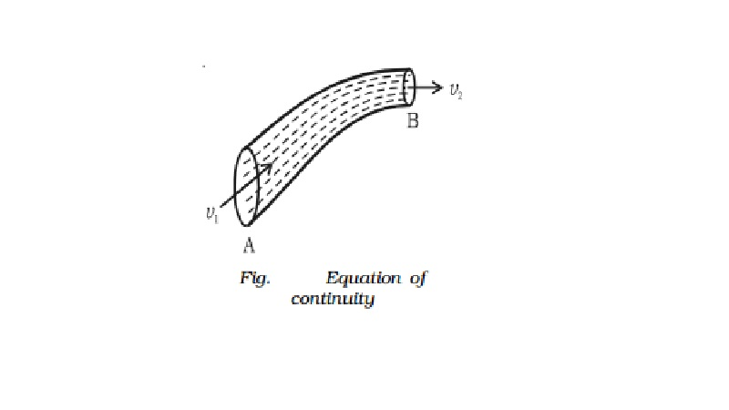 Fluid Equation of continuity
