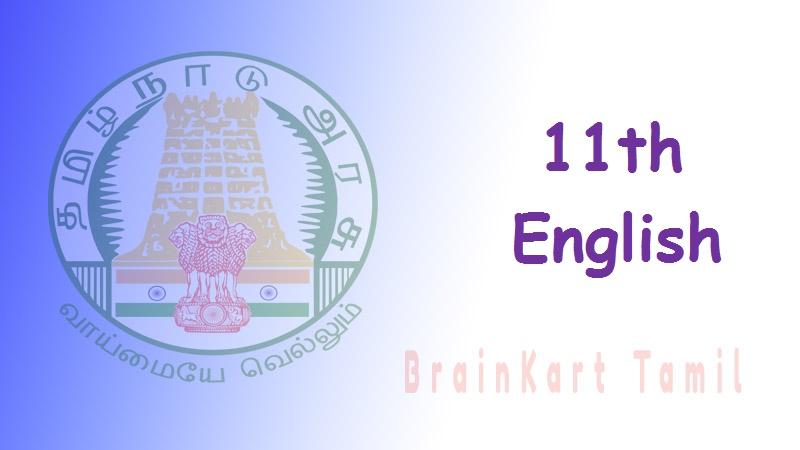 English 11th std