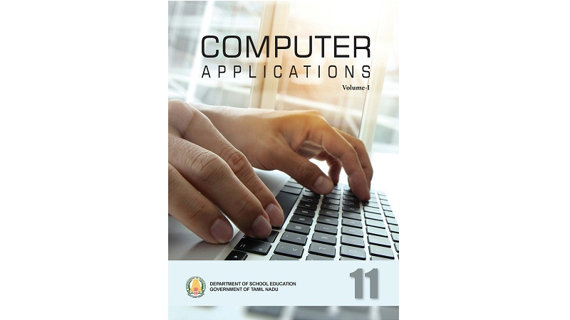 Computer Applications 11th std