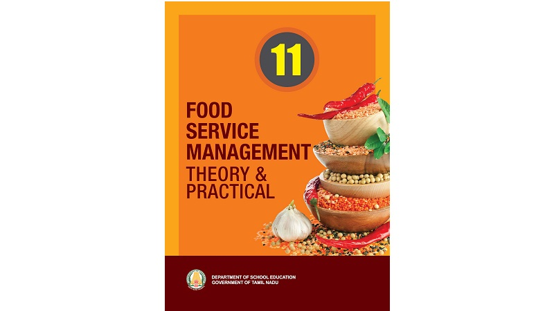 Food Service Management 11th std